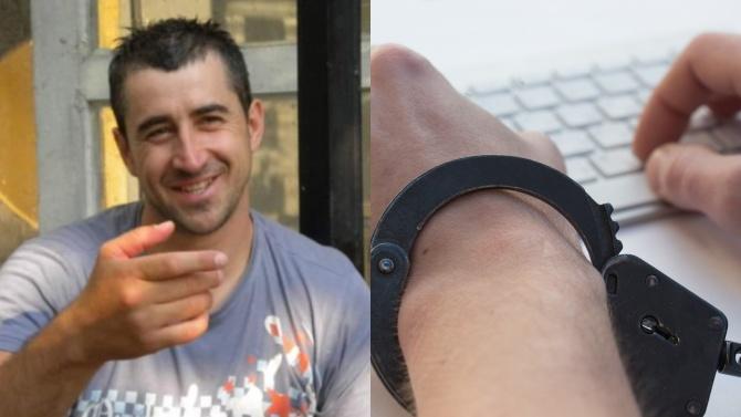 Каплата е арестуван, заканил се да убие коментиращ изчезването на Янек Миланов