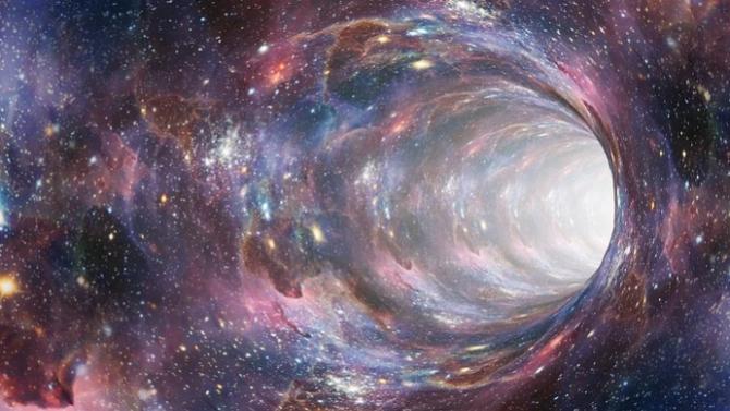 Астрофизици заснеха сливането на две черни дупки в една