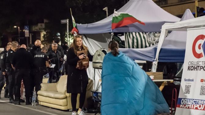 Възстановяват палатковите лагери в София?
