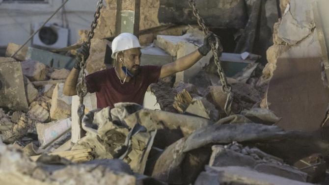 Живот под руините на Бейрут?