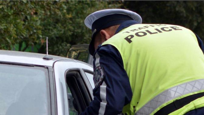 При акция на Пътна полиция са арестувани 8 водачи заради алкохол в Хасковска област