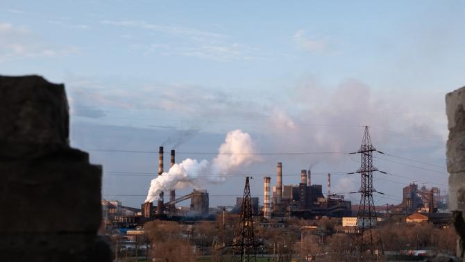 Протестиращи за чист въздух в Русе блокираха движението край Дунав мост