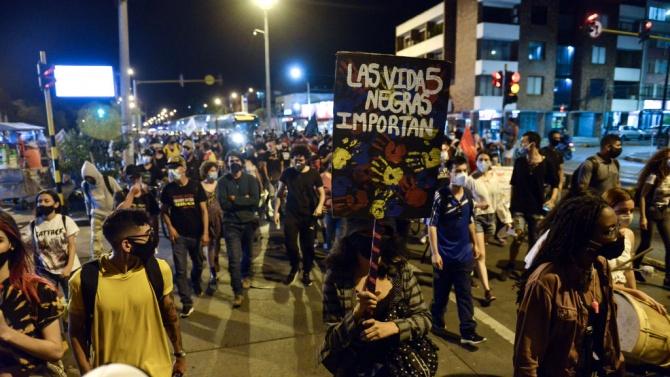 Втора нощ на сблъсъци в Колумбия след проява на полицейско насилие