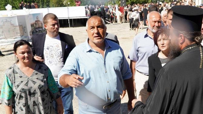 Борисов в Кърджали: Уважавам протестиращите, но не и тези, които хвърлят бомби