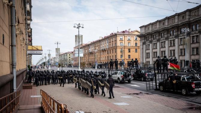 30 задържани на антиправителствения протест в Беларус