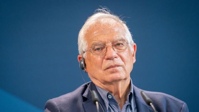 Ръководителят на дипломацията на Европейския съюзЖозеп Борел заяви, че ЕС