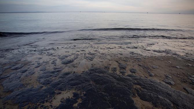 Петролен разлив засегна западното крайбрежие на Венецуела