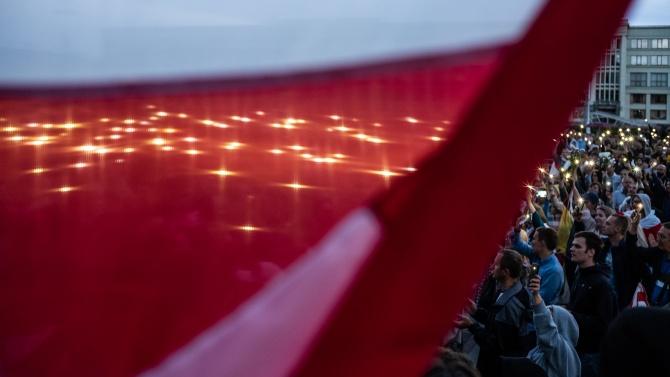 Продължават протестите в Беларус, над 400 души са арестувани
