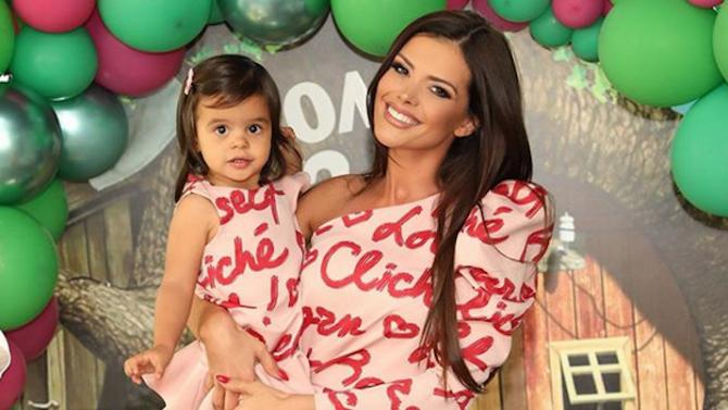 Дъщерята на Преслава стана на 2 годинки