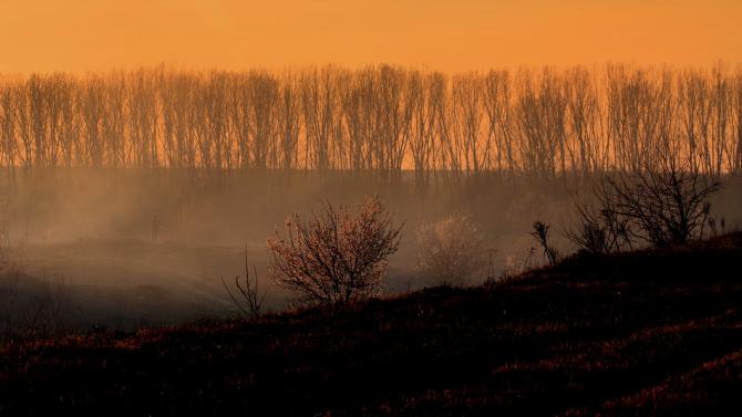 Остава сложна ситуацията с пожарите в област Хасково