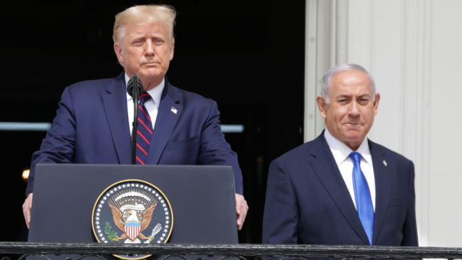 Тръмп връчи на Нетаняху церемониален ключ от Белия дом