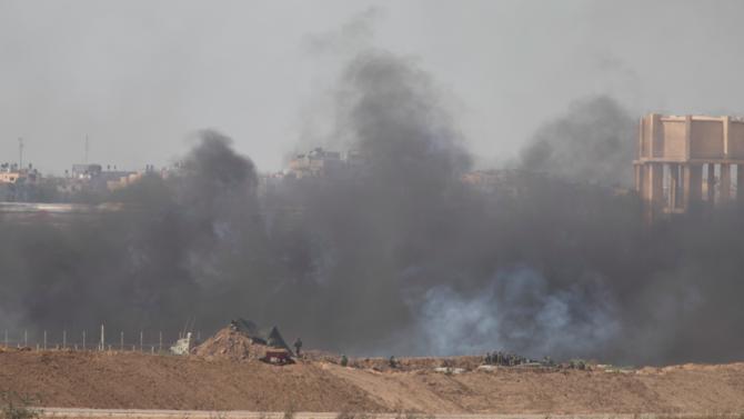 Израелската армия бомбардира ивицата Газа
