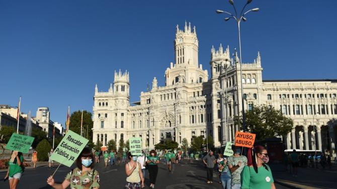 В Мадрид не си поплюват: затягат епидемичните мерки дори още повече