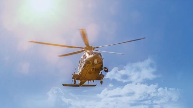Доставиха новородено бебе с хеликоптер в Столипиново