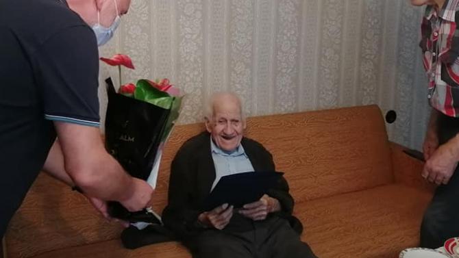 Дядо Курти Милушев от Силистра навърши 100 години