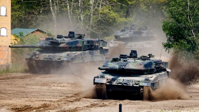 Украйна и САЩ започнаха съвместни военни учения два дни след Русия и Беларус