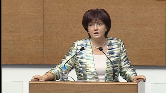 """Цвета Караянчева за скандала със """"Системата ни убива"""": Лъжа е, че майките не са допуснати до парламента"""