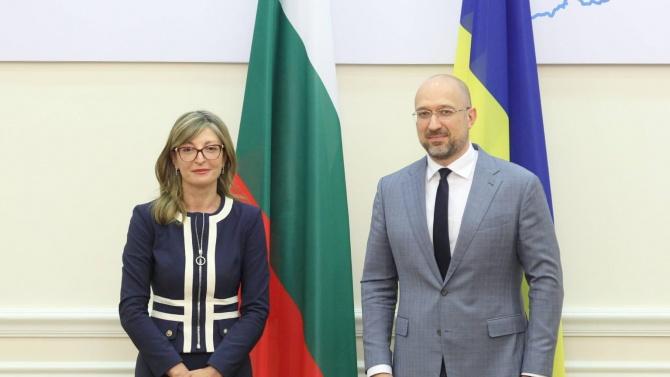 Премиерът на Украйна Денис Шмигал лично пое ангажимент пред вицепремиера