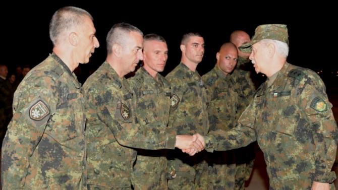40-ият контингент се завърна след успешно участие в мисия на НАТО в Афганистан