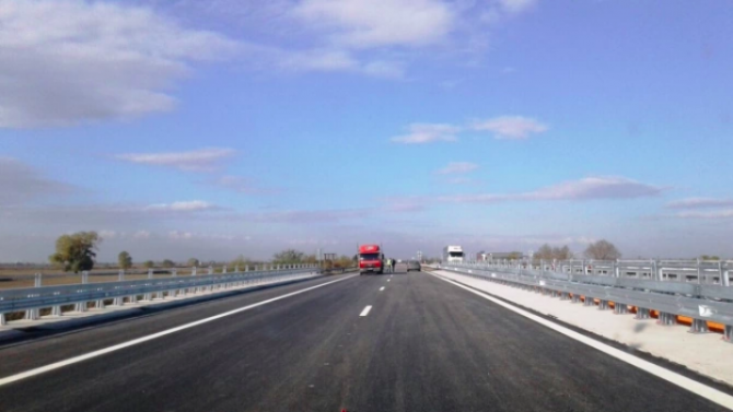 """Временна организация на движението по автомагистрала """"Тракия"""" в участъка край Ихтиман"""