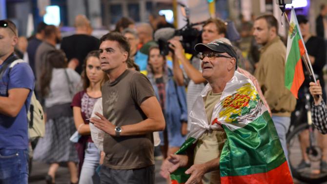 73-ти ден на протести в София