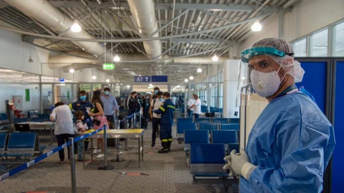 В Гърция за денонощие са регистрирани нови 240 случая на коронавирус