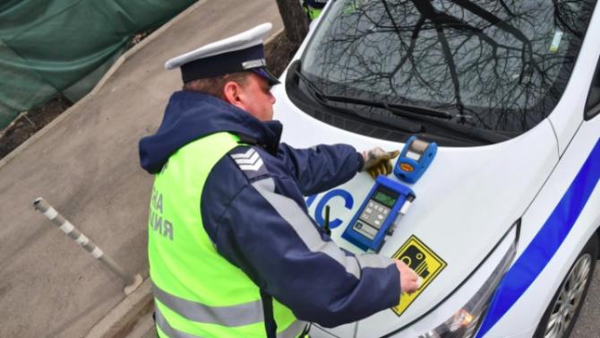 Арестуваха 13 шофьори в Пловдив, единият предложил подкуп на полицаите