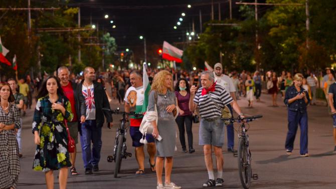 74-ти ден на антиправителствени протести в София