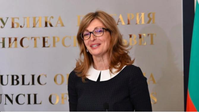 """Екатерина Захариева ще участва в заседание на Съвета """"Външни работи"""" в Брюксел"""