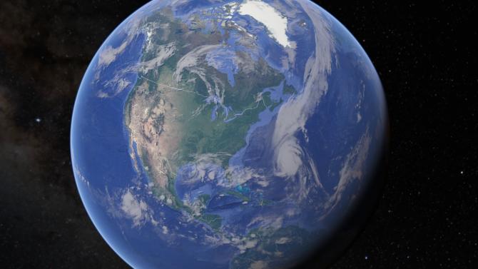 Волно или неволно, Google Earth показа странна фигура в загадъчната Зона 51