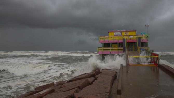 Тропическата буря Бета връхлетя щата Тексас