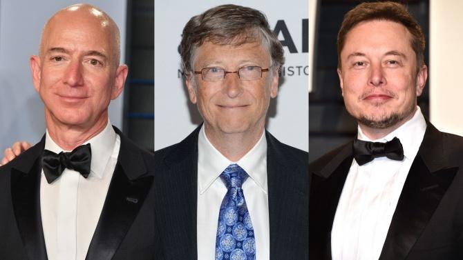 Богатството на американските милиардери нарасна с 845 млрд. долара от началото на COVID-19