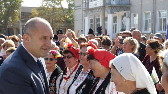 Румен Радев: Бояджик е символ на непокорния български дух, който винаги се стреми към свобода
