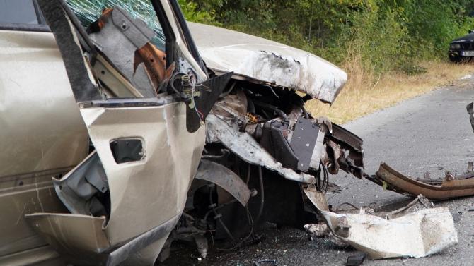 Тежка катастрофа край Сливен, има загинал