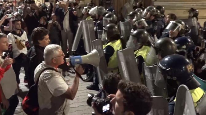 """Протестът на площад """"Народно събрание"""" е нергламентиран Това обяви пред"""