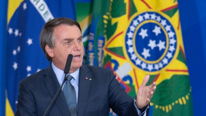 Бразилският президент Жаир Болсонаро защити пред ООН дискусионната си екологична