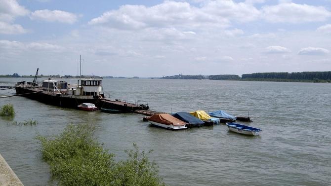 С 11 см се е понижило нивото на Дунав при Свищов