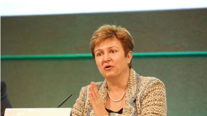 Председател на Международния валутет фонд (МФВ)Кристалина ГеоргиеваКристалина Иванова Георгиевае родена