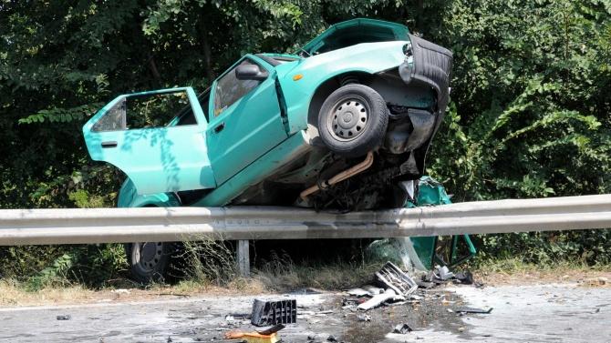 Трима пострадали леко при пътнотранспортно произшествие вчера около 11 часа