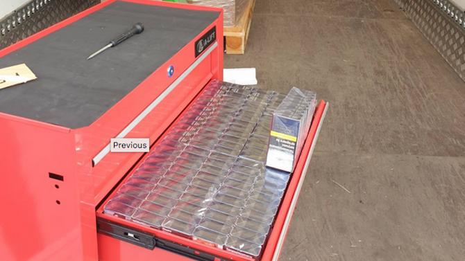 Икономическа полиция разкри престъпна схема за износ на нелегални цигари за Европа