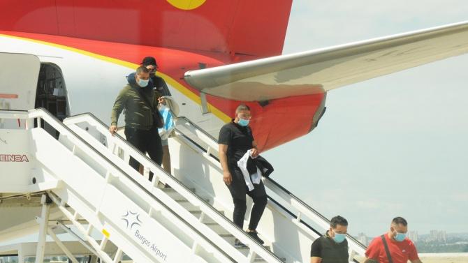 86% е регистрираният спад на обслужените пътници на бургаското летище