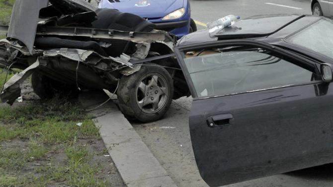 Меле с пиян шофьор на пътя Разград – Попово