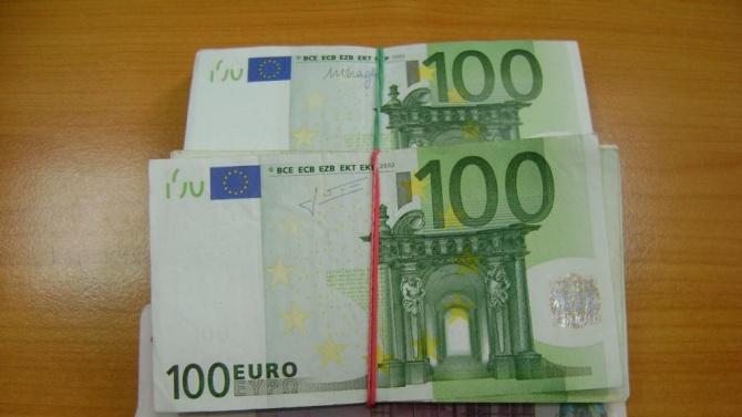 """Откриха близо 20 000 недекларирани евро на ГКПП """"Лесово"""""""