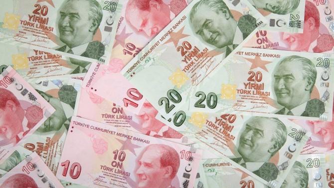 Турската лира се посъвзе