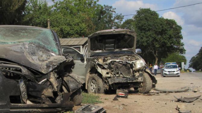 Две коли се сблъскаха в Пловдивско, 61-годишна жена е ранена