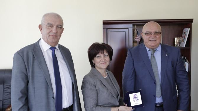 Председателят на Народното събрание е на посещение във Видин