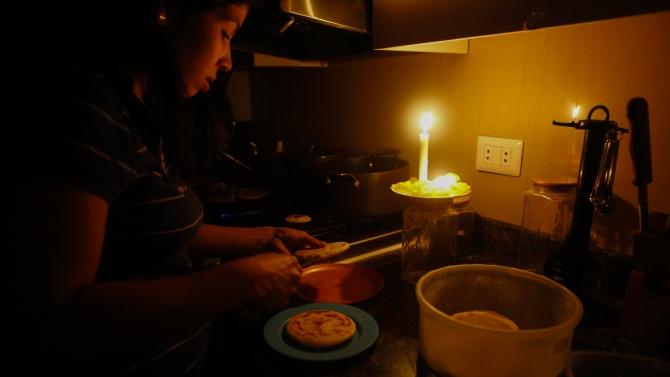 Венецуелците отново останаха без ток