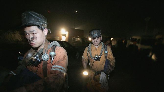 17 миньори се оказаха в капан в китайска мина за въглища