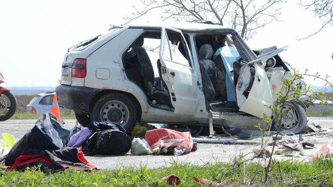 Войната по пътищата взе 5 нови жертви