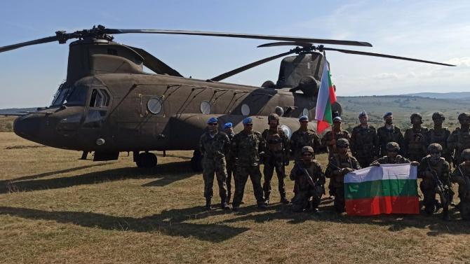 Военнослужещи от Съвместното командване на специалните операции участваха в многонационално учение в Румъния